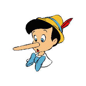 If only all liars had a nose like this.