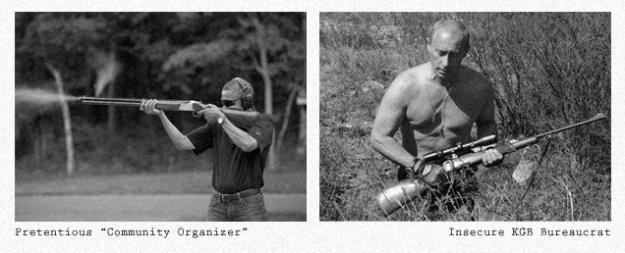 Young Putin V Obama 1.2